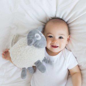 din baby sover søtt