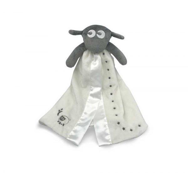 Baby produkter gray Blankie 1 600x554 - Koseteppe (Grått)