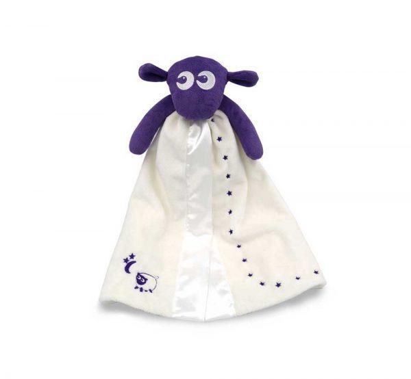 Baby produkter lilla Blankie 1 600x554 - Koseteppe (Lilla)