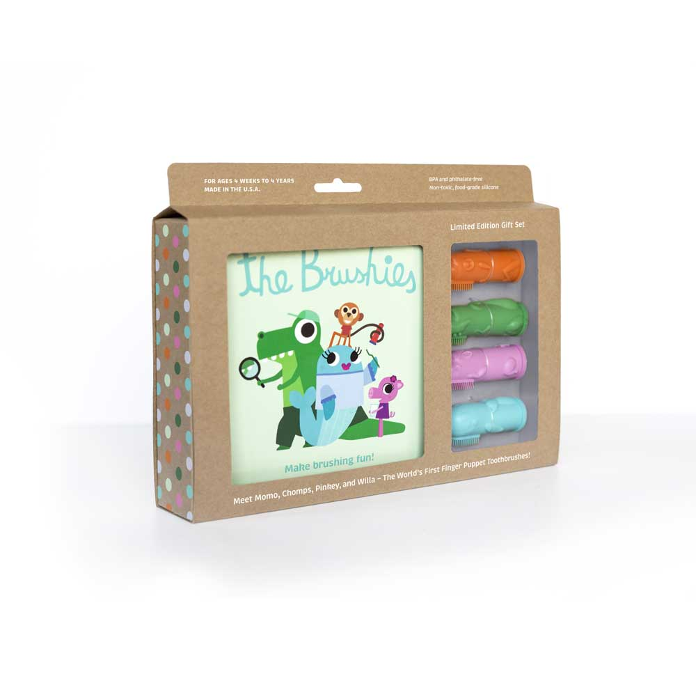 The Brushies - THE BRUSHIES GIFT SET