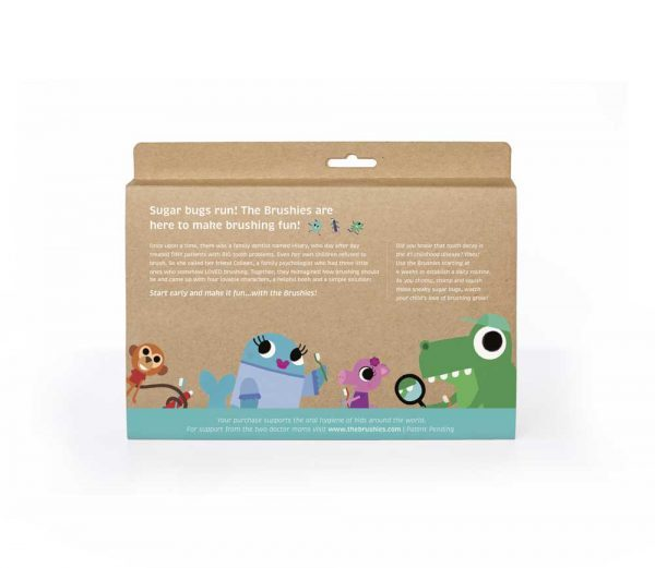 The Brushies backpages 600x521 - THE BRUSHIES GIFT SET