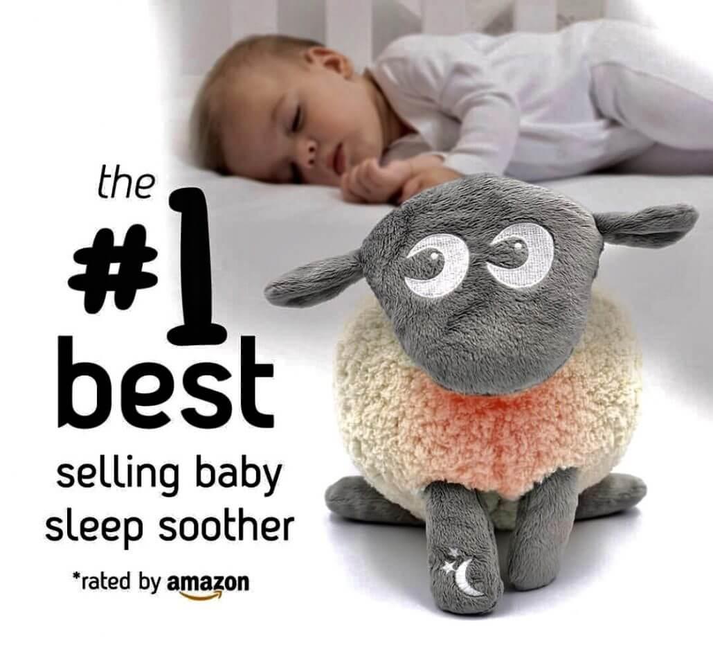 Bestselger Amazon Sovebamse for nyfødt