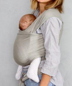 Bæresjal fra Fornessi (Dove Grey Wrap)