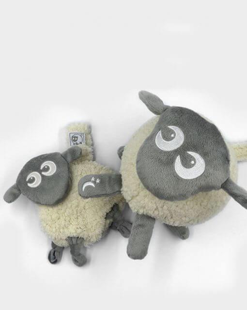 sweetdreamers ewan deluxe baby sleep aid ewan snuggly bundle grey 2 510x640 - Kompispakken Deluxe: Deluxe og Snuggly (Grå)