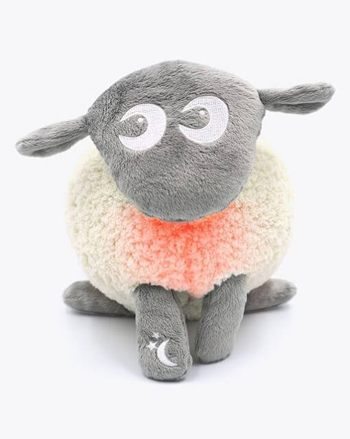 sweetdreamers ewan the dream sheep deluxe baby sleep aid grey 280218 1 510x640 - Kompispakken Deluxe: Deluxe og Snuggly (Grå)