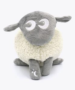 sweetdreamers ewan the dream sheep deluxe baby sleep aid grey 280218 2 247x296 - Kompispakken Deluxe: Deluxe og Snuggly (Grå)