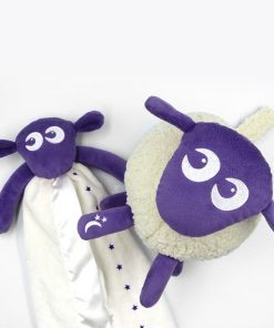 sweetdreamers ewan deluxe baby sleep aid ewan snuggly bundle purple 1 247x296 - Deluxe Pakke (lilla)