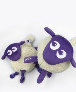 sweetdreamers ewan deluxe baby sleep aid ewan snuggly bundle purple 2 247x296 - Kompispakken Deluxe: Deluxe og Snuggly (Lilla)