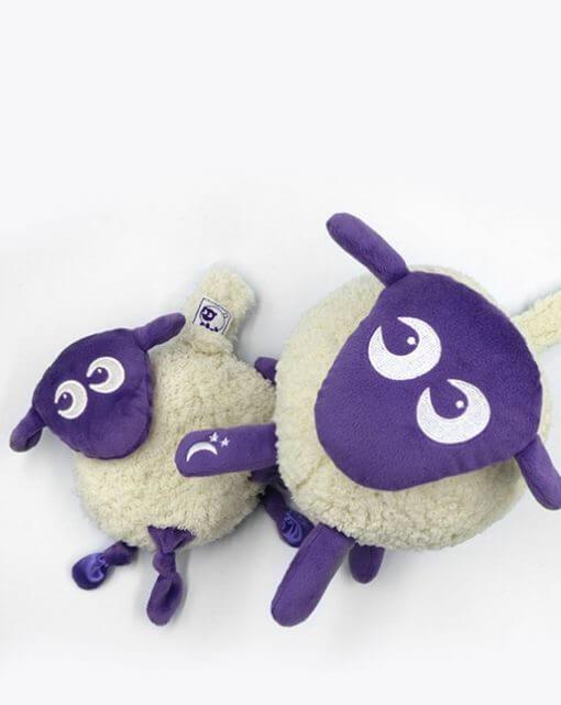 sweetdreamers ewan deluxe baby sleep aid ewan snuggly bundle purple 2 510x640 - Kompispakken Deluxe: Deluxe og Snuggly (Lilla)