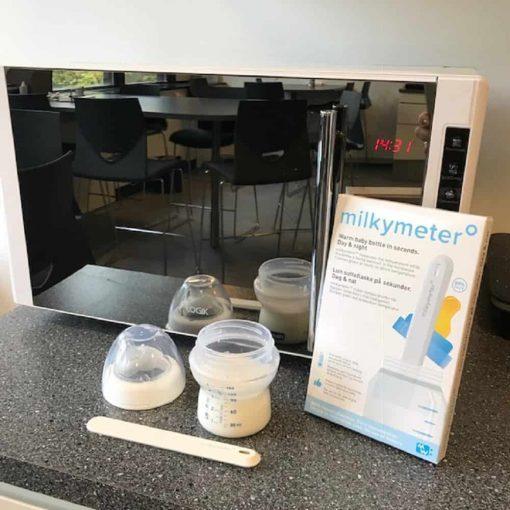 milkymeter feeding bottle and microwave 510x510 - Milkymeter