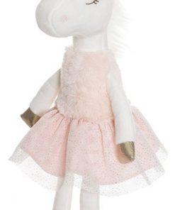 enhjørning veldig søt og fin bamse - rosa farger