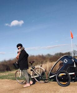 kos-dere-på-tur-med-sykkelvogn-fra-hamax