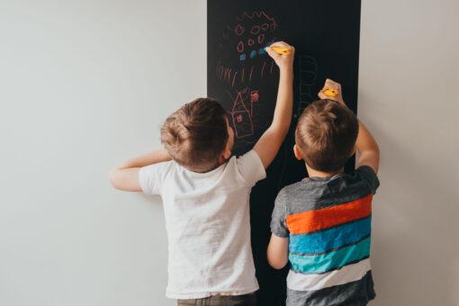 jaq-jaq vegghengt tavle for kritt for barn