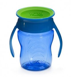 wow cup drikkeflaske blå